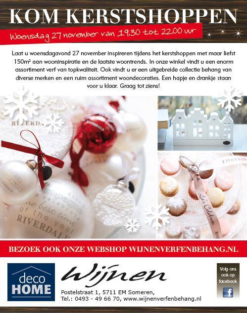 Kerstshoppen In Someren