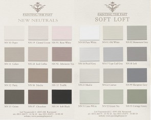 Kleurenkaart New Neutrals En Soft Loft