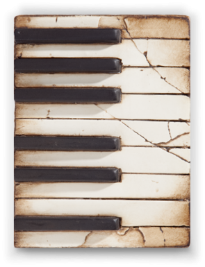 Sid Dickens Tile Piano Keys