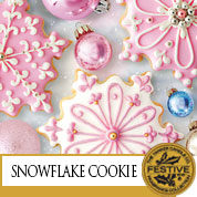 Yankee Candle Snowflake Cookie