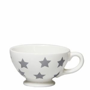 Mini Jumbocup White Stars Grey Bastion Collections