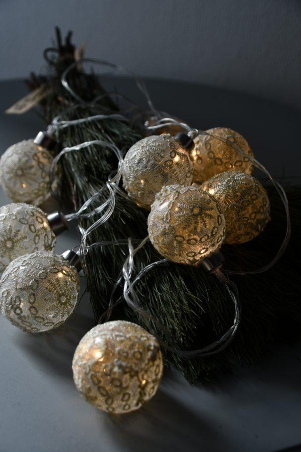 Kerstlampjes Kant Glas Caltabellotta