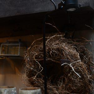 Tafel lamp Mat Zwart Caltabellotta